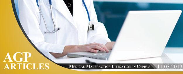 Medical Malpractice Litigation in Cyprus