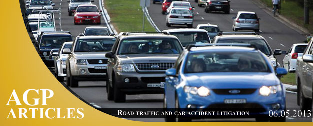 Road traffic and car accident litigation in Cyprus