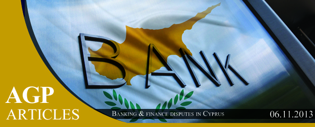 Banking & finance disputes in Cyprus