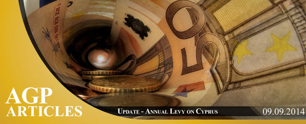 Update | Annual Levy on Cyprus Companies