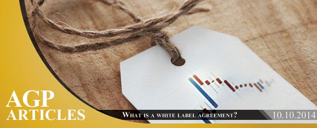 What is a white label agreement?