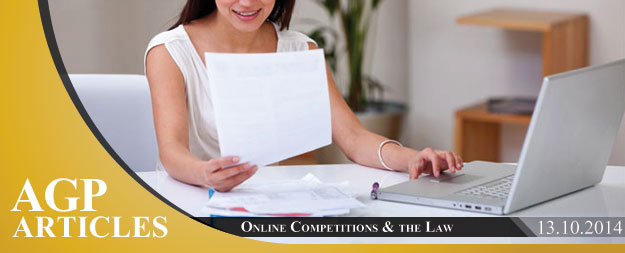 Online Competitions & the Law