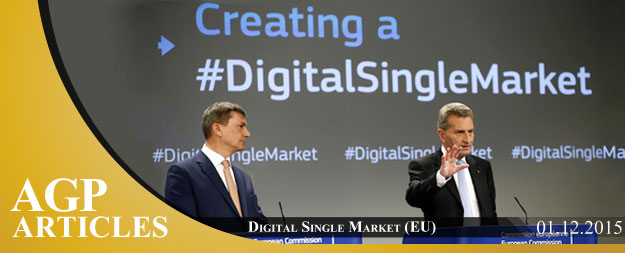 EU Digital Single Market Strategy (initiatives & benefits)