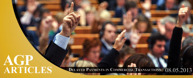 Delayed Payments in Commercial Transactions Law – Cyprus