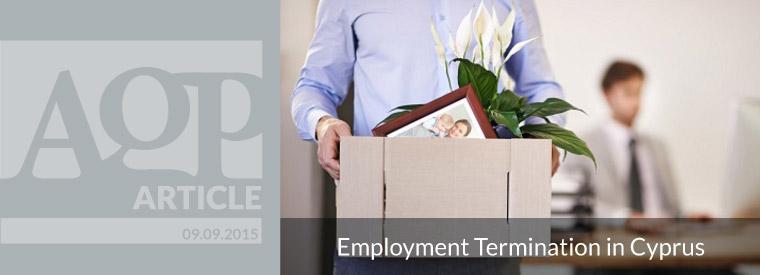 Employment Termination in Cyprus – FAQ – Part I