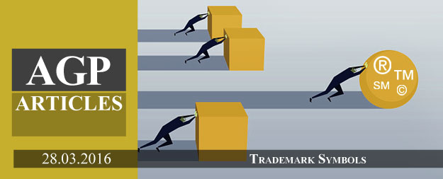Trademark Symbols (®, TM and SM)