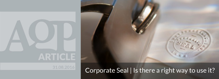 Cyprus Company's common seal – Is there a right way to use it?