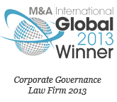 M&A International - GLOBAL 2013 Winner Corporate Law Firm Cyprus