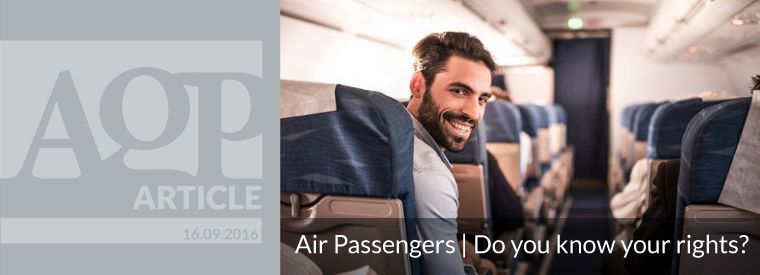 Air passengers | Do you know your rights?