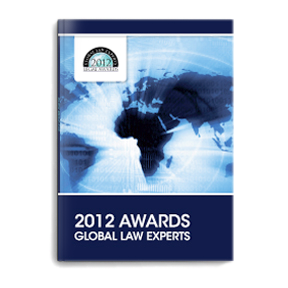 GLOBAL LAW EXPERTS 2012