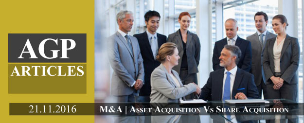M & A | Asset Acquisition Vs Share Acquisition