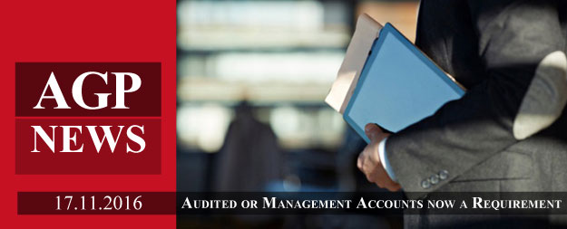 Audited or Management Accounts for all Companies