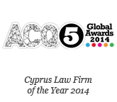 ACQ Global Awards 2014 - Cyprus Law Firm of the Year