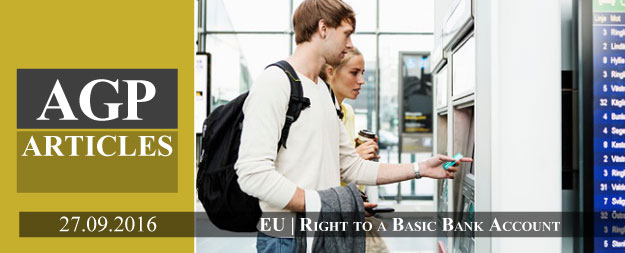 Right to a basic bank account in the EU