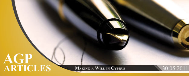Making a Will in Cyprus