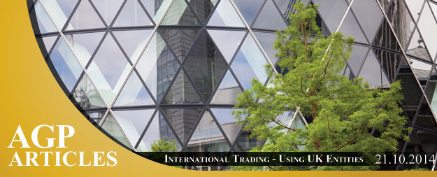 International Trading – Using UK Entities
