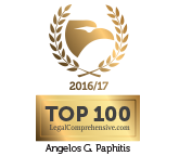 "LegalComprehensive.com ""TOP 100 Legal Awards 2017"" Winner"