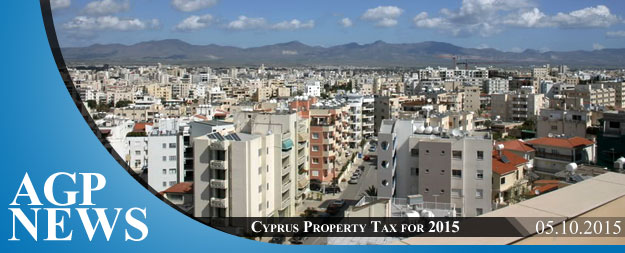 Cyprus Property Tax for 2015 – Announcement