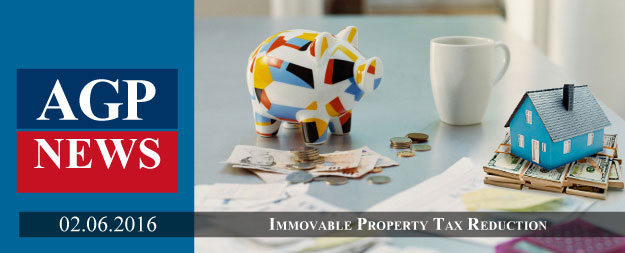 Cyprus  | Immovable Property Tax Reduction by 50%