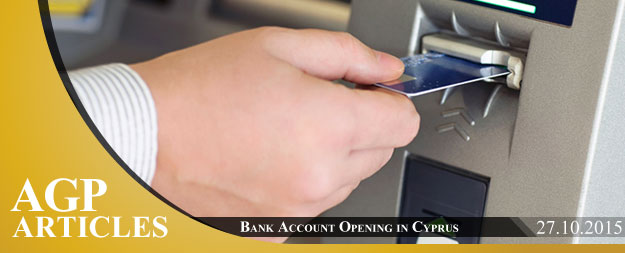 Bank Account Opening in Cyprus