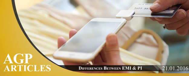 What is the difference between EMI and PI licensing?