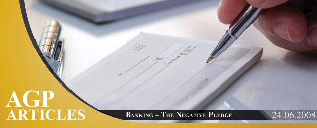 Banking | The Negative Pledge