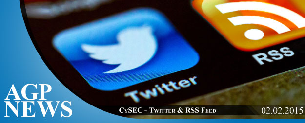 CySEC – Twitter & RSS Feed instead of E-alerts