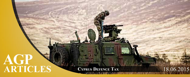 Cyprus Defence Tax [Part I]