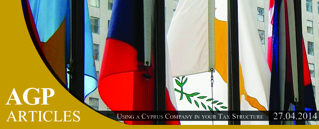 Using a Cyprus Company in your Tax Structure