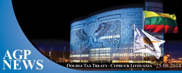 Update – Double Tax Treaty between Cyprus & Lithuania