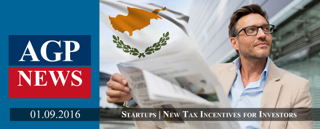 New Tax Incentives for Investments in Innovation and Start-ups in Cyprus