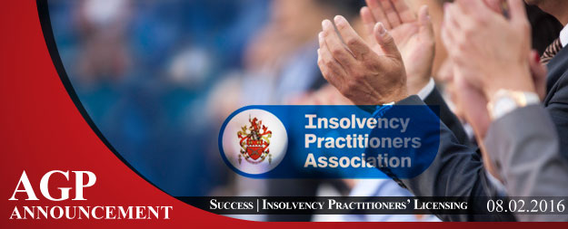 AGP Success | Insolvency Practitioners' Licensing