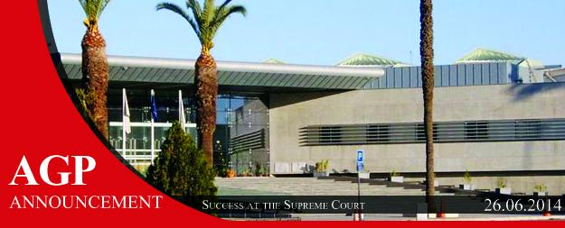 Litigation Success – At the Supreme Court