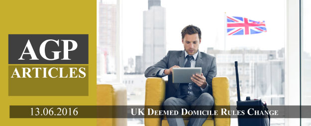 UK Deemed Domicile Rules Change