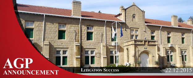 Litigation Success | Cancellation of Interim Orders