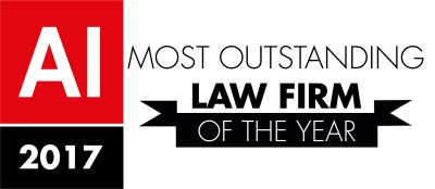 Most Outstanding Law Firm – AI Awards 2017