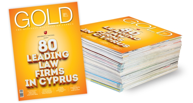 "A. G. Paphitis & Co. LLC in the ""80 Leading Law Firms in Cyprus"" for 2017 awarded by Gold Magazine"