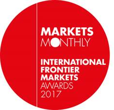 International Frontier Monthly Awards 2017 Winner