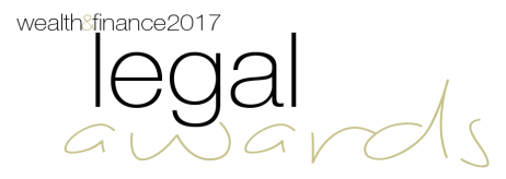 Wealth and Finance Legal Awards 2017 Winner