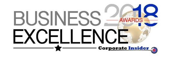 2018 Business Excellence Awards Winner, Corporate Insider