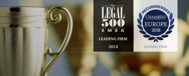 AGP & Co ranked in and recommended by the leading Law Directories, The Legal500 EMEA and Chambers & Partners, for their 2018 Rankings