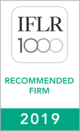 "IFLR1000 ""Recommended Firm 2019"" 