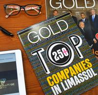 gold magazine top companies limassol