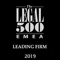 legal 500 2019 leading firm EMEA Cyprus