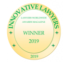 "Winner in the category ""Corporate Law Firm of the Year 2019-Cyprus"" 