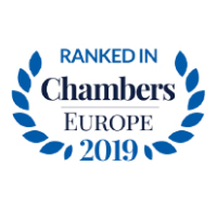 Ranked in Chambers Europe (Cyprus) 2019 – Dispute Resolution