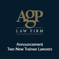 agp law firm new trainee lawyers 2020