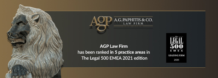 AGP is ranked in and recommended by Legal500 EMEA 2021 in 5 practice areas