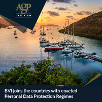 BVI joins the countries with enacted Personal Data Protection Regimes