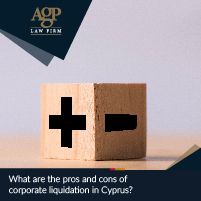 What are the pros and cons of corporate liquidation in Cyprus?